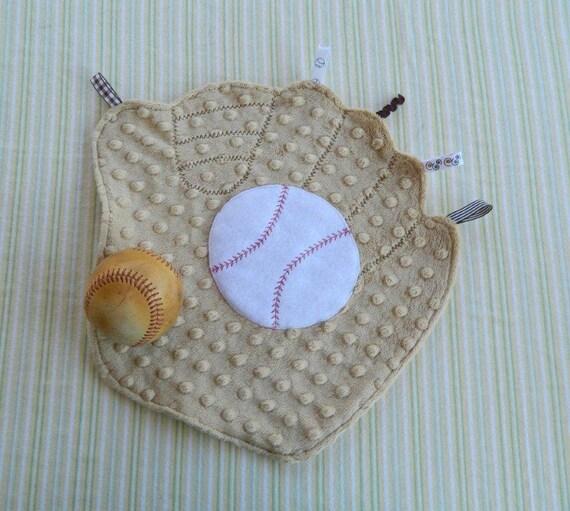 Batter Up Baseball Mitt Snugglie