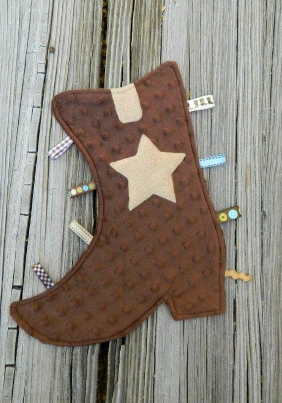 Cozy Cowboy Brown Boot Snugglie