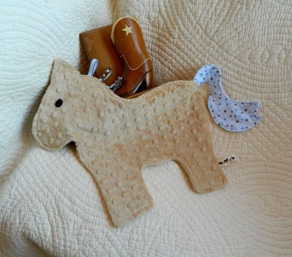 Giddyup Horse Crinkle Snugglie