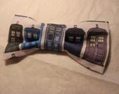 TARDIS Timey-Wimey Bow Tie