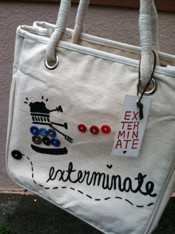 Cutesy Dalek Bag