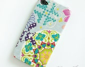 Modern graphic floral iPhone 4 case / Flower iPhone 4s case/  iPhone 4s / iPhone cover