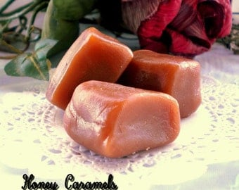 Handmade Creamy Melt-in-your-Mouth Honey Caramels