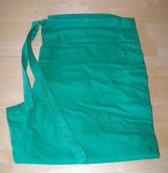 Nursing or Medical Solid Color Kelly Green Scrub Bottoms