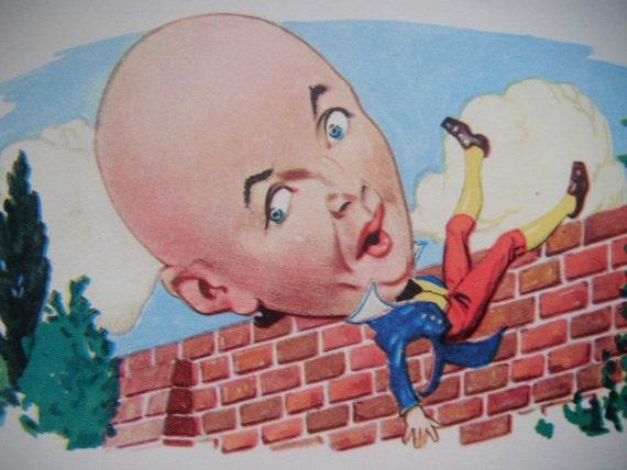 Vintage 1930's child's nursery rhyme book