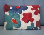 Kindle Case - Kindle Cover - Nook - Kobo - Ebook Reader - Tablet - iPad - Padded - Quilted - Flowers