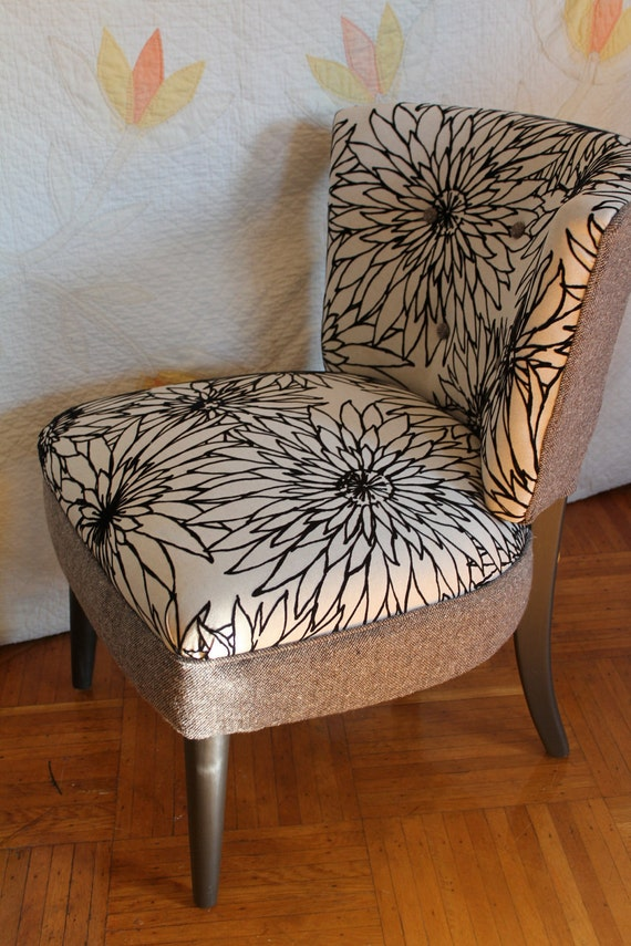 Mid Century Modern Reupholstered Chair