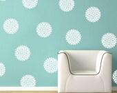 Vinyl Wall Decals- Flower WallPaper- Bloom Decals