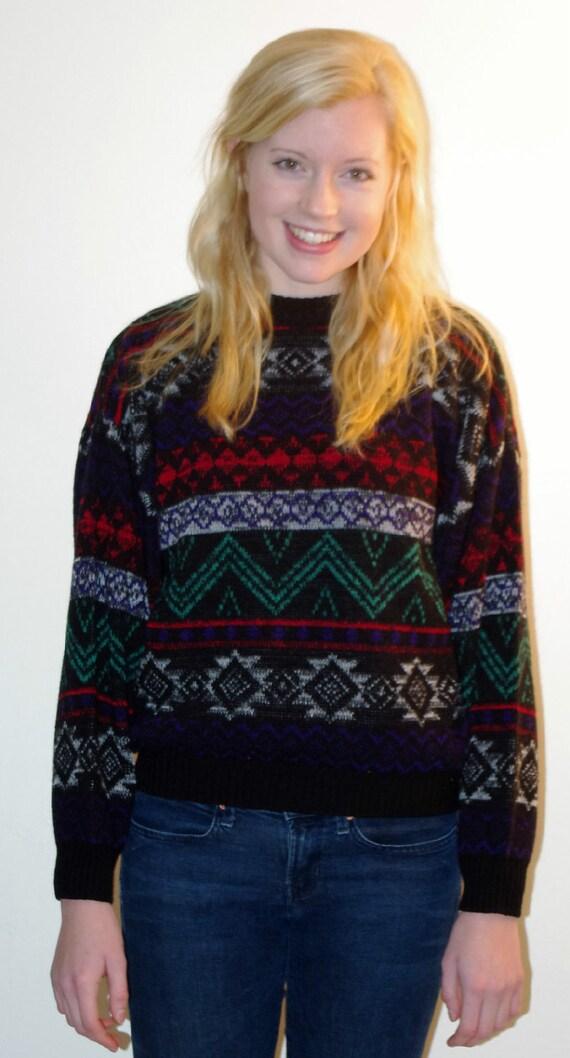 Bright 80's Sweater