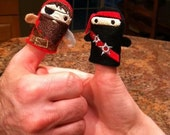 Any TWO Thumb Wars Finger Puppets
