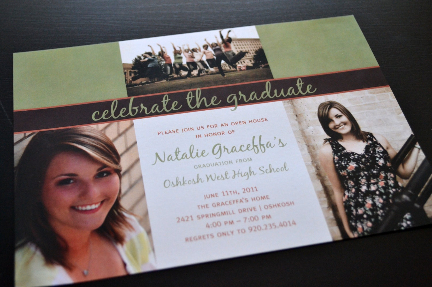 Senior Graduation Invitations as luxury invitation example