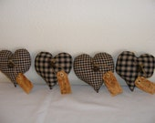 Bowl Fillers - Homespun Hearts - Made to Order