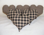 Bowl Fillers - Homespun Medium Hearts - Made to Order