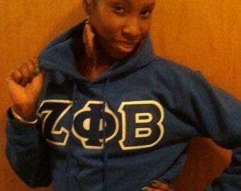 Sorority/Fraternity Hoodie Greek Letter Sweatshirts
