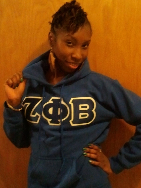 Sorority/Fraternity Hoodie Greek Letter Sweatshirts
