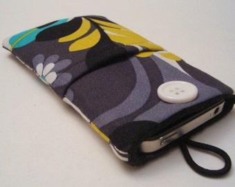 iPhone cover, iPhone 6, 6 plus case, iPhone 5, iPhone pouch, iPhone sleeve, iPod Cover, iPod case, iPod Sleeve in designer fabric