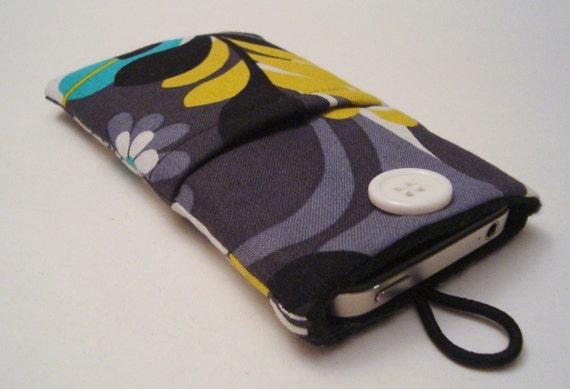 iPhone cover, iPhone 6, 6 plus case, iPhone 7 plus phone pouch, iPhone sleeve, iPod Cover, iPod case, iPod Sleeve in designer fabric