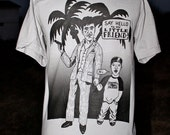 American Apparel Scarface and Zach Roloff Screen Printed Tee Shirt ALL SIZES