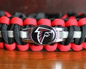 NFL Football Paracord Bracelet Atlanta Falcons