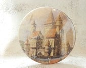 3.5 Inch Mirror Once Upon a Time Fairy Tale Renaissance Medieval Castle