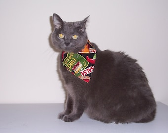 Pet Bandana Fiesta Hot and Spicy Size Small