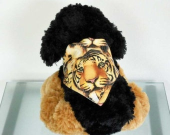 Pet Bandana Tiger - Size Small
