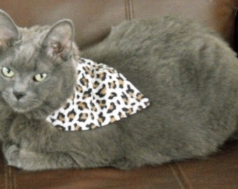 Pet Bandana Animal Print Small Just Slide It On