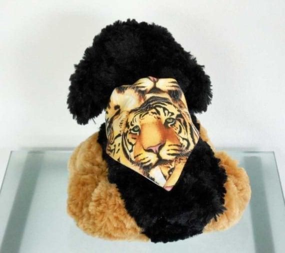 Pet Bandana Tiger - Size Small