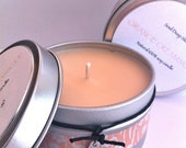 Deliciously Scented - Vegan - Pure soy candle - Orange Creamsicle