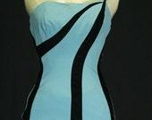 1950's Bombshell Bathing Suit
