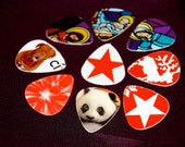 Hand Crafted Guitar Picks -- 10 Pack