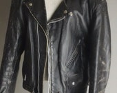 Vintage Classic Styled Leather Motorcycle Jacket