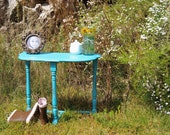 Shabby Table Vintage Antique Chic