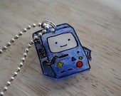 Adventure Time Beemo Necklace