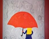 Umbrella Stella 20X16 Original Art