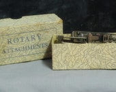 Vintage Box of Rotary Attachments
