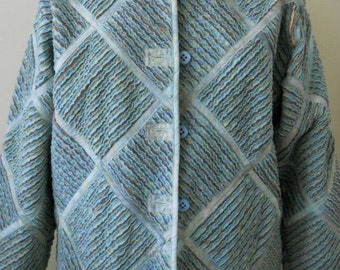 Chenille spring-weight jacket