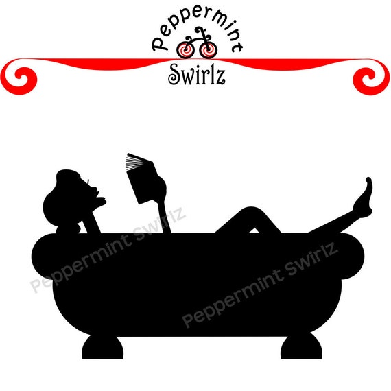 Items similar to Good Book and a Bath clip art on Etsy