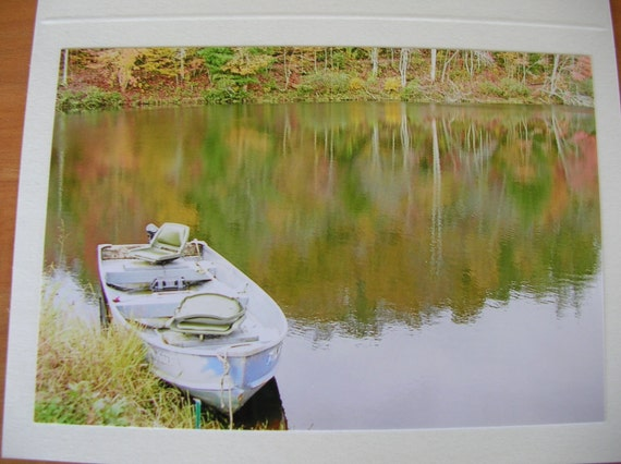 "Photo Note Cards  Set of 6  Series ""At the Lake"" Handmade LittlestSister"