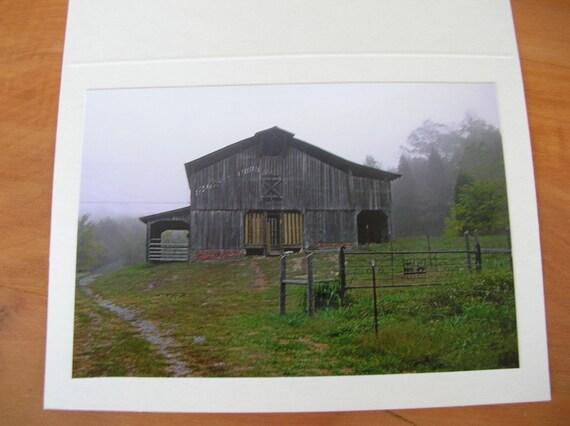 "Photo Note Cards  Set of 4  Series ""The Homestead"" Handmade LittlestSister"