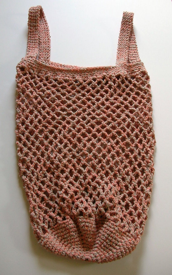 Crochet Cotton Market Bag
