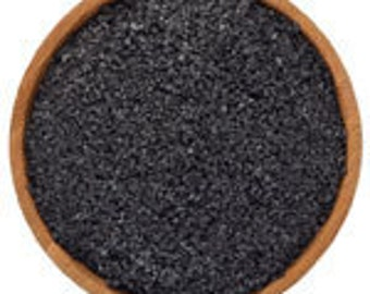 Hawaiian Black Lava Salt