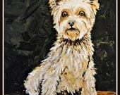custom personalized painted pet portraits