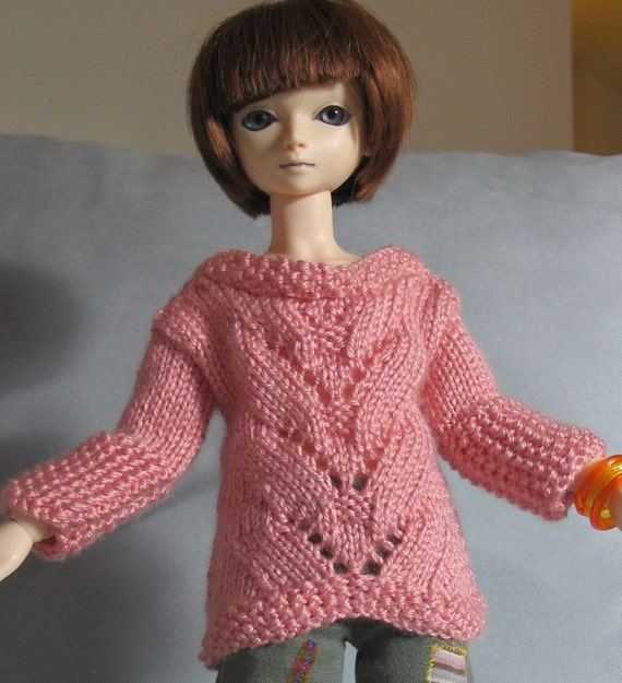 Coral Reef - BJD Hand-knit Clothing