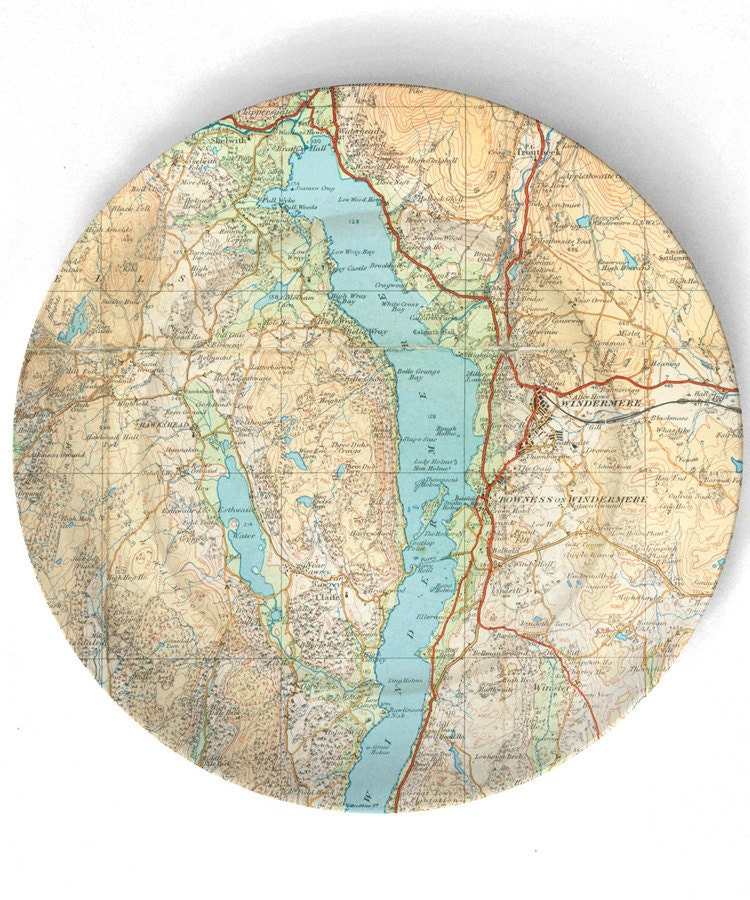 11 Diy-able Ideas For Using Maps and Mod Podge. Simplicity In The South.