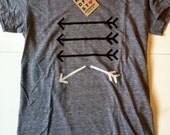 Broken Arrow Women Tshirt S M L XL