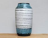 Large West German vase by Scheurich (517-38)