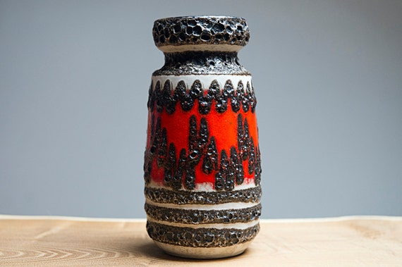 West German vase by Scheurich (242-22)