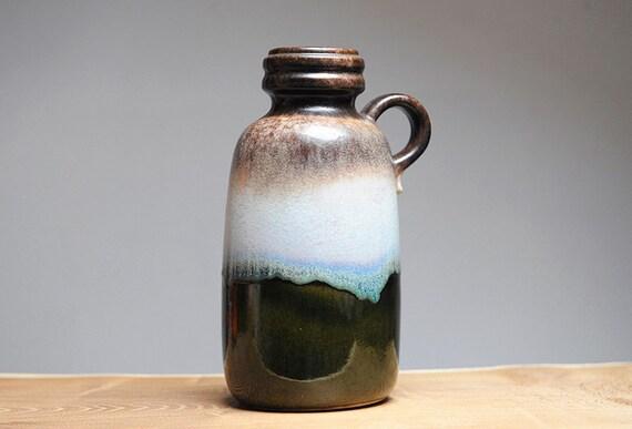 West German handled vase by Scheurich (413-26)