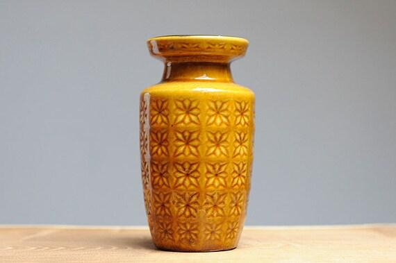 """West German """"Prisma"""" vase by Scheurich (261-18)"""